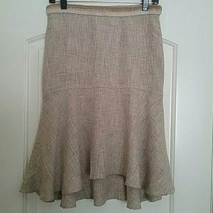 BCBGMAXAZRIA Silk Lining Skirt Size 2